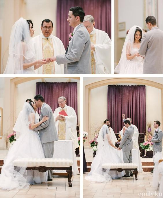 Catholic Wedding Readings: Catholic Wedding Vows At St. Francis De Sales Church In