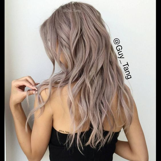 Metallic Obsession Guy Tang Antique Rose Collection With Kenra  Balayage Om
