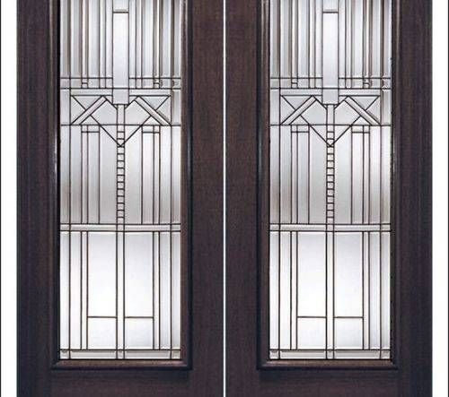 Stained Glass Interior French Doors French Doors