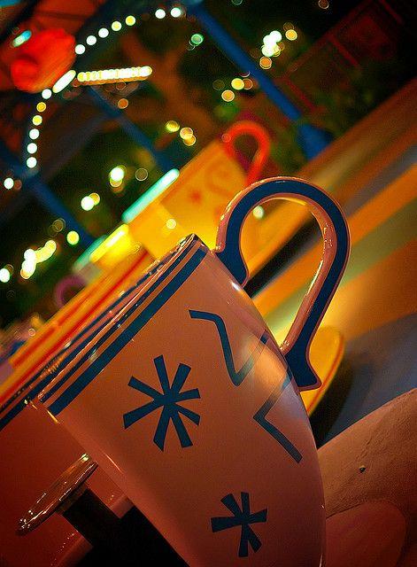 luluzinha kids ❤ parque de diversões - Tea Cups