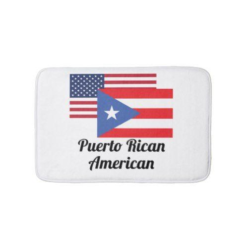 American And Puerto Rican Flag Bath Mat Puerto Ricans Puerto Rican Flag Small Bath Mat