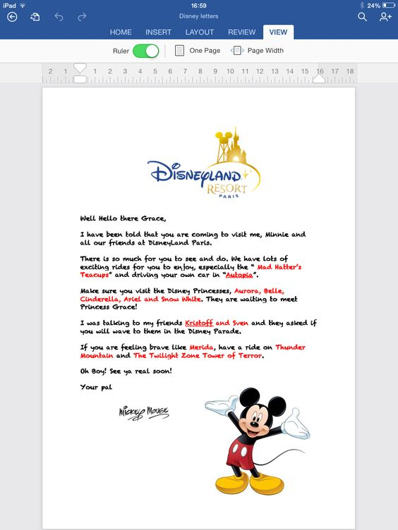 surprise letter from mickey mouse disneyyyy pinterest mice mickey mouse and letters. Black Bedroom Furniture Sets. Home Design Ideas