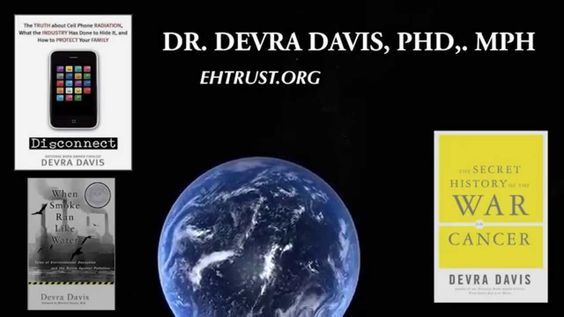 WATCH: Dr Devra Davis explaining why erratic pulsed microwave radiation from a cell phone is causing cancer https://www.youtube.com/watch?v=nr0Sl5gGI7M