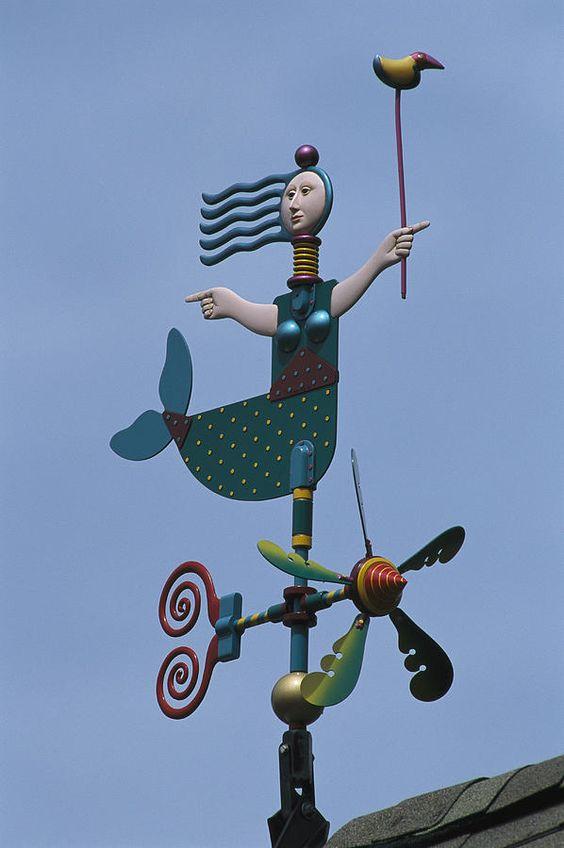 LOVE this weathervane!