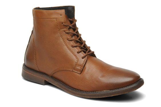 H By Hudson NAPTON (Marron) - Bottines et boots chez Sarenza (143453)
