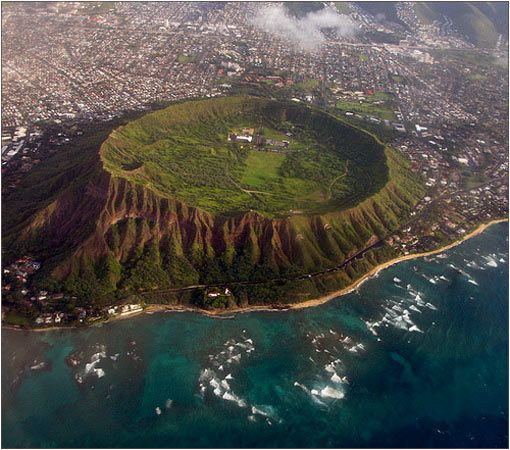 EL MUNDO ANIMAL: EL CRÁTER DE DIAMOND HEAD EN HAWAI