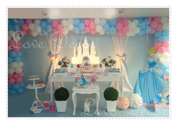 LOVE DECOR: CINDERELA - a festa!!!!