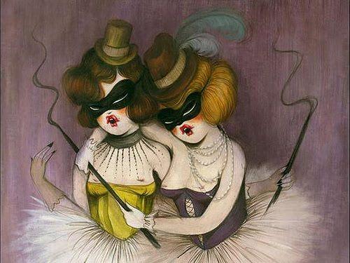 CHALALAS: Miss Van: erotismo, cabaret y circo.