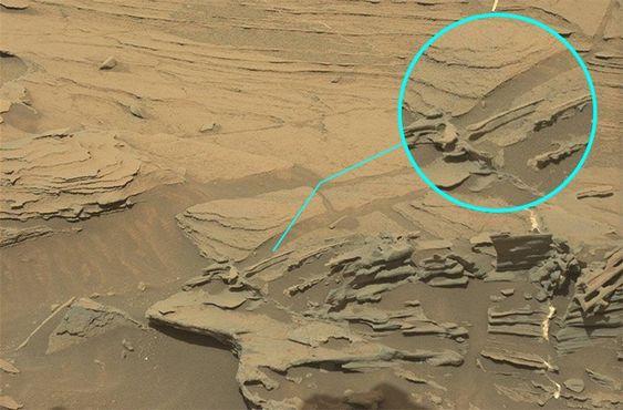 A formação rochosa do planeta vermelho é mais sofisticada que a da Terra