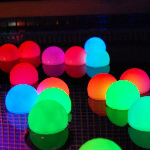 Pool Parties, Glow And Garden Deco On Pinterest