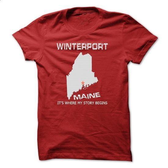 Winterport-ME72 - wholesale t shirts #boyfriend tee #cropped hoodie
