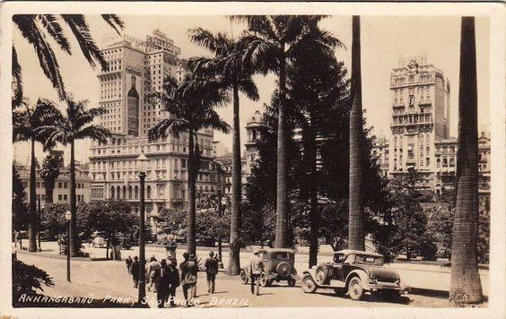 Anhangabaú - anos 1930