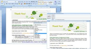 word email templates