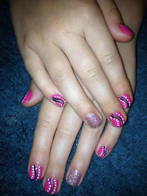 Little Girls, Nails And Girls On Pinterest