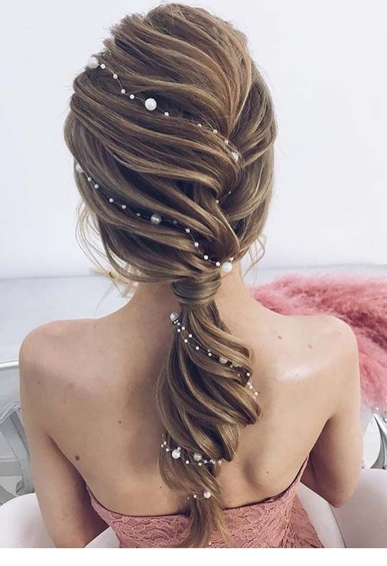 Cute Wedding Summer Hairstyle Idea Miladies Net Hair Styles Long Hair Styles Hair Vine