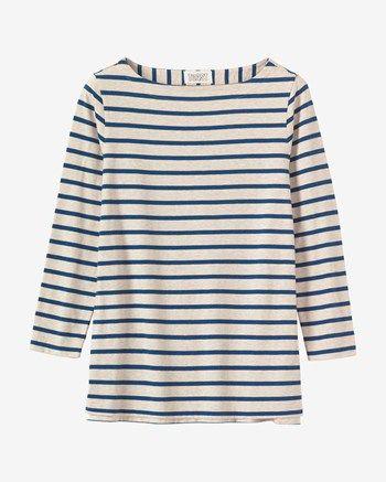 Women's Breton Stripe Tee