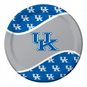 "Kentucky 8.75"" Paper Dinner Plates - 96 per case  Product # :424768  $22.55"