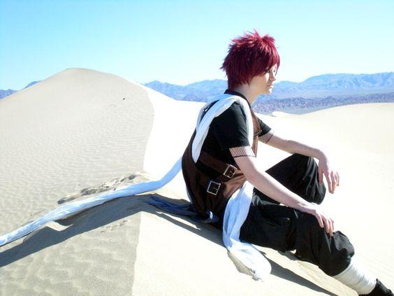 gaara cosplay | Gaara Cosplay 3 - Naruto Village!