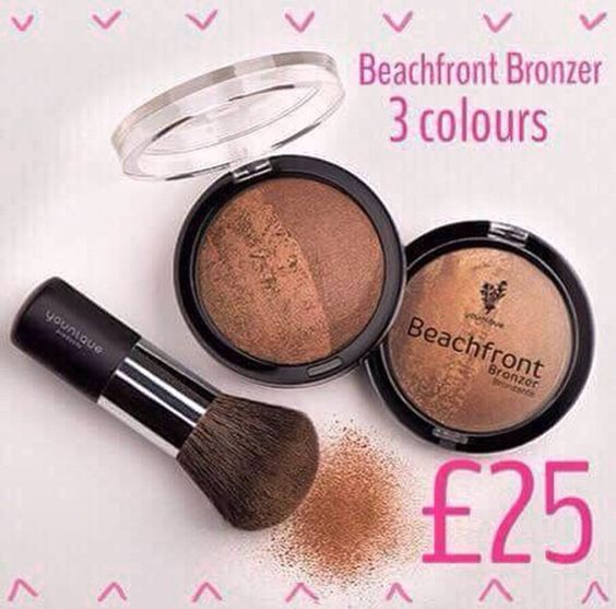 Beachfront Bronzers, get sing get ready with these beautiful Bronzers, available in 3 shades. Only £25. But now at www.youniqueproducts.com/lisajoannelynch     #beauty #bronzer #summer #beautiful #happy #smile #pretty #face #animalfriendly #natural #beautyaddict #lovemakeup #makeupaddict #makeupartist