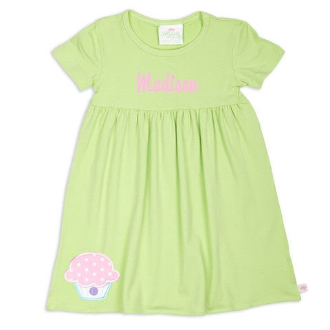 Girls Mint Empire Cotton Dress – Lolly Wolly Doodle