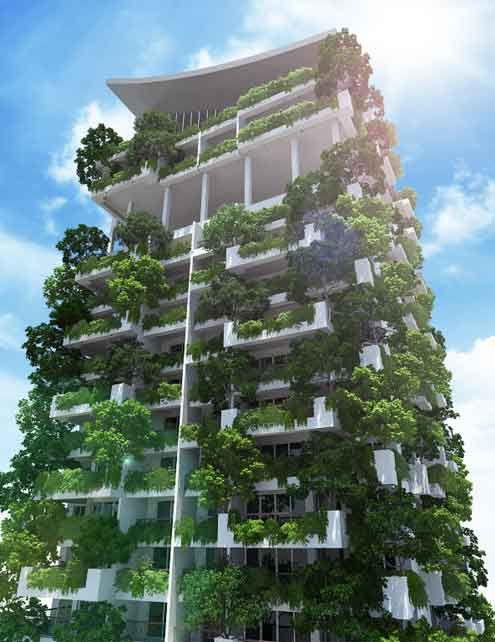 Clearpoint sustainable high rise apartment complex located in