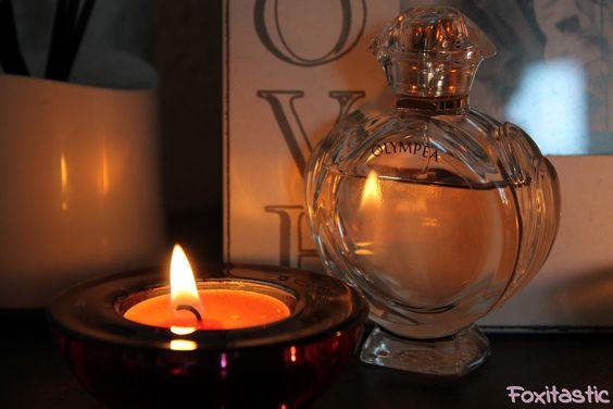 Paco Rabanne's aktueller Duft Olympéa für Damen - das passende Pendant zu dem Parfüm für den Herren Invictus