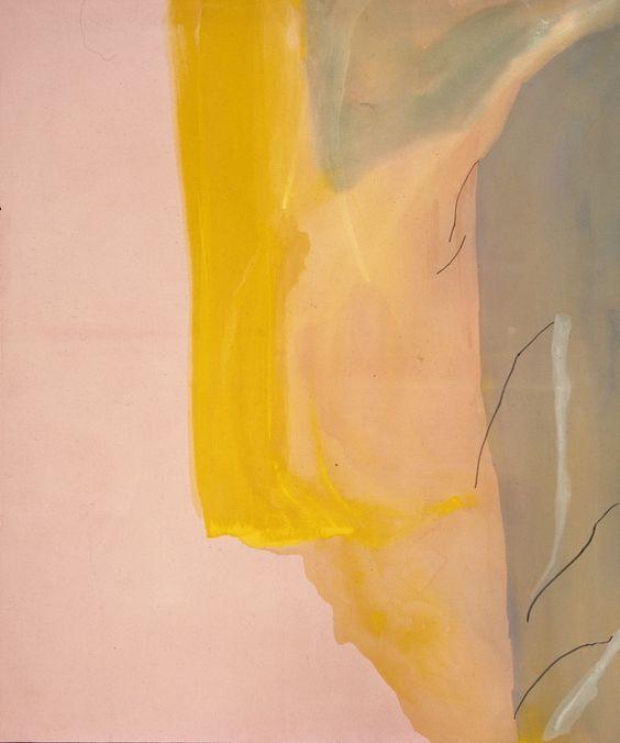 Helen Frankenthaler, Spiritualist, 1973