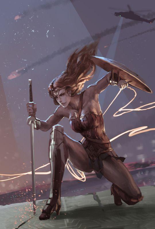 Wonder Woman by Norwata.