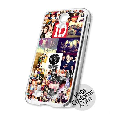 1D And 5 Sos Boy Band Collage Cell Phones Cases For iPhone, Samsung Galaxy