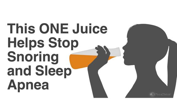 Snoring and sleep apnea affect millions of people worldwide, but did you know there's a natural remedy for it? Here's how this juice can help...