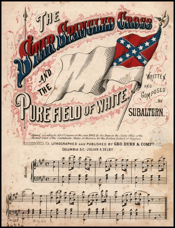 music of the civil war Given that country music is arguably the modern-day south's most famous  cultural export, it is possible that references to the civil war in.