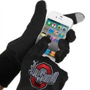 McArthur Ohio State Buckeyes Touch Gloves - Black