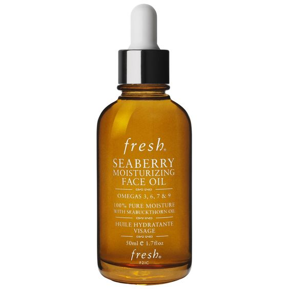 Seaberry Moisturizing Face Oil: