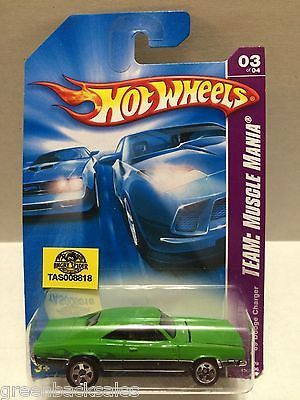 (TAS008818) - Mattel Hot Wheels Racing Stock Car - Dodge Charger