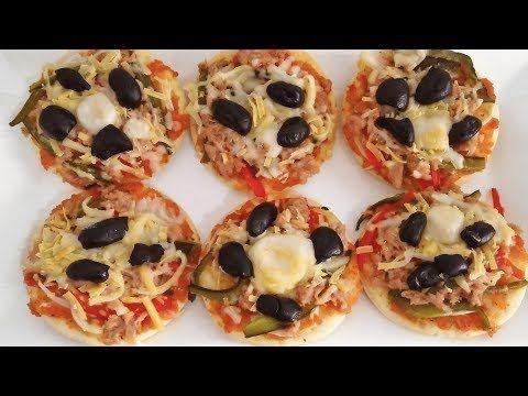 The Perfect Mini Pizza With Tuna بيتزا بالتونة لذيذة جدا مع سرالعجينة المميزة Youtube Food Pizza Desserts