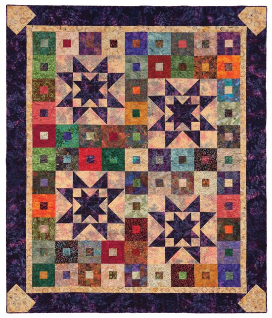 FREE JELLY-ROLL QUILT PATTERN! Click through to download this ?Purple Daze? pattern from the ...