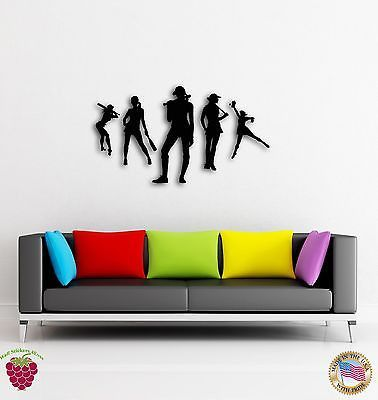 Wall Sticker Baseball Hot Sexy Girls with Bat Cool Decor for Living Room z1389