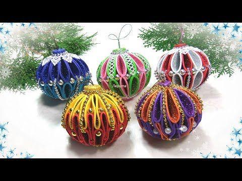 Yolochnye Igrushki Iz Foamirana Svoimi Rukami Diy Christmas Ornaments Glitter Foam Yo Foam Christmas Ornaments Christmas Ornaments Christmas Ornaments To Make