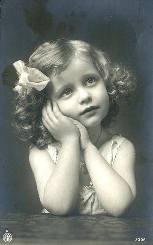 Vintage Postcard ~ Little Sweetie