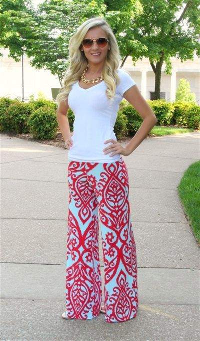 20 Style Tips On How To Wear Palazzo Pants: