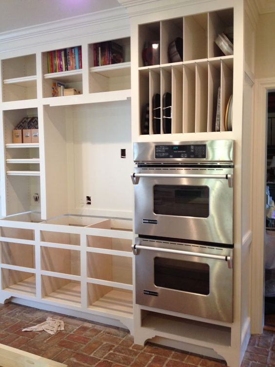 Vertical Storage Double Ovens And Ovens On Pinterest