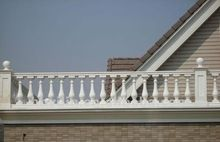 tuin balustrade wit - Google Search