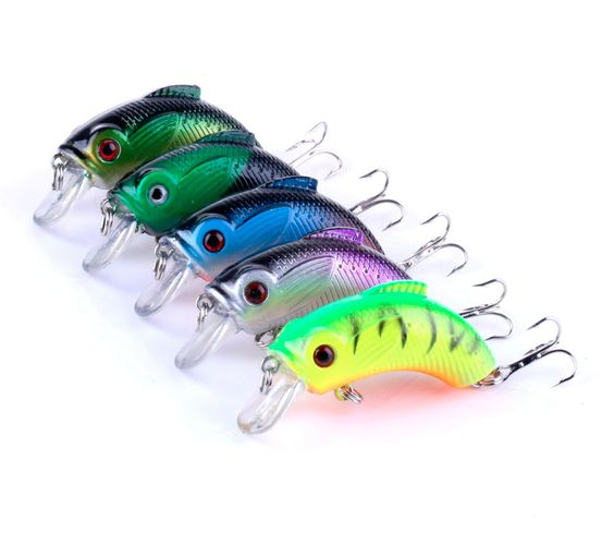 hengjia new arrival 5 colors 5.5cm 9g minnow fishing lure isca, Hard Baits