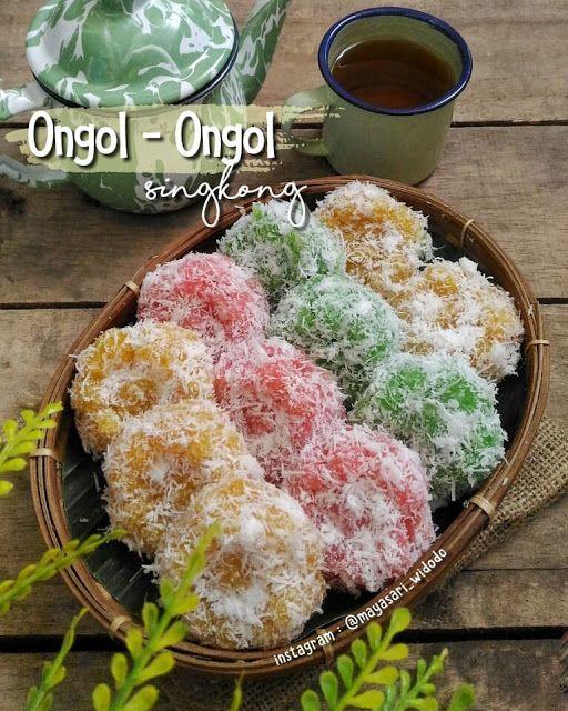 Ongol Ongol Singkong Ala Mayasari Widodo Resep Aneka Kue Enak Food Recipes Bread Cake