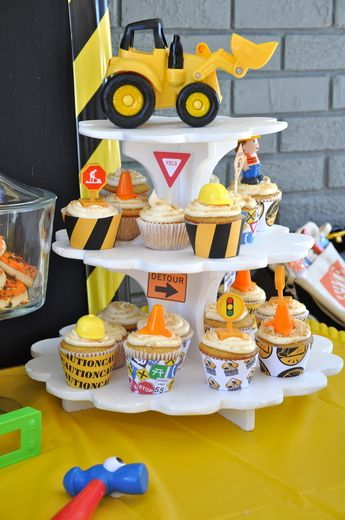 Cake Decorating Stores In Greensboro Nc : Construction Birthday Party Ideas My boys, Boys and Cup ...