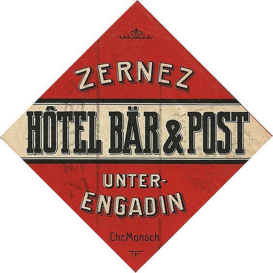 Svizzera - Zernez - Hotel Bar & Post