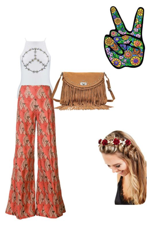 """Hippie girl🌺☮️"" by aicha-13 on Polyvore featuring mode, Miss Selfridge, Zadig & Voltaire en Johnny Loves Rosie"
