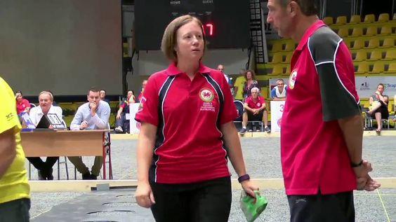 European Championship 2016   Women's Wales petanque   Qualification of P...