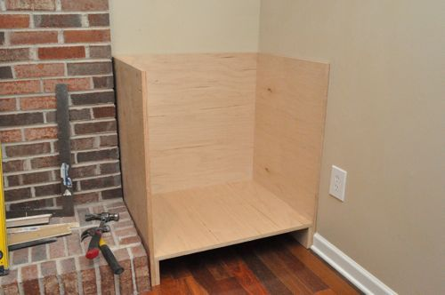 Custom woodworking kreg jig and shelves on pinterest for Build kitchen cabinets with kreg
