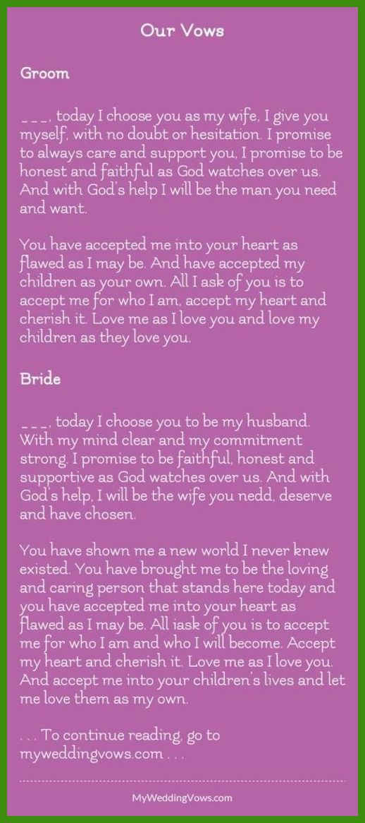 Wedding Vows Your Wedding Ceremony 4 Easy And Fun Steps To Create A Fun And Personalized Ceremony Wedding Vows To Husband Funny Wedding Vows Wedding Vows
